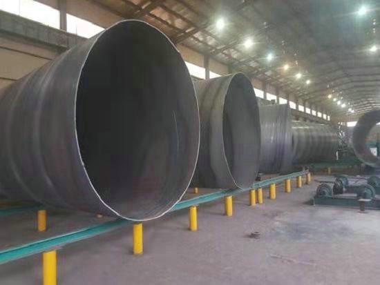 直销:大口径防腐螺旋钢管工期短,发货快