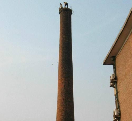 代县神砖烟筒人工拆除工程公司&让您满意