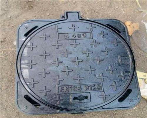咸阳淳化球墨铸铁方型井盖产品精致