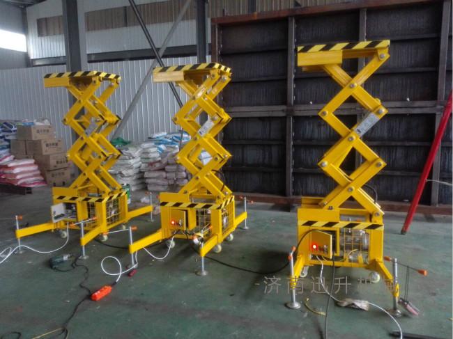 5米移动式升降机%新乡液压升降机%钢结构钢架 坚固耐用图片