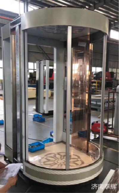 临沂导轨5米家用电梯胶州更融入家庭风格