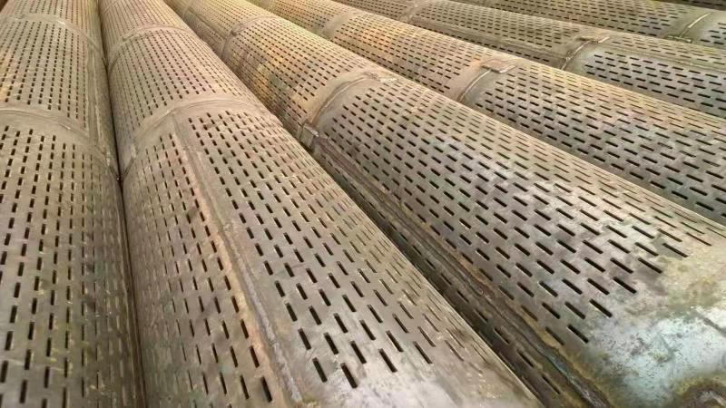 800mm圆孔钢花管攀枝花桥式过滤管厂子