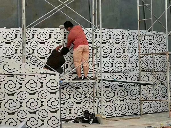 惠来雕刻铝单板安装人工费价格