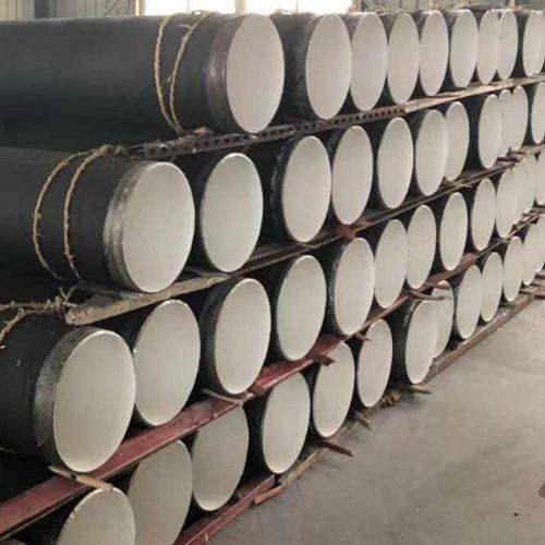 外径377法兰链接防腐钢管厂家运输