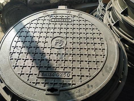 卓尼球墨铸铁(压力)井盖{雨水}盖板