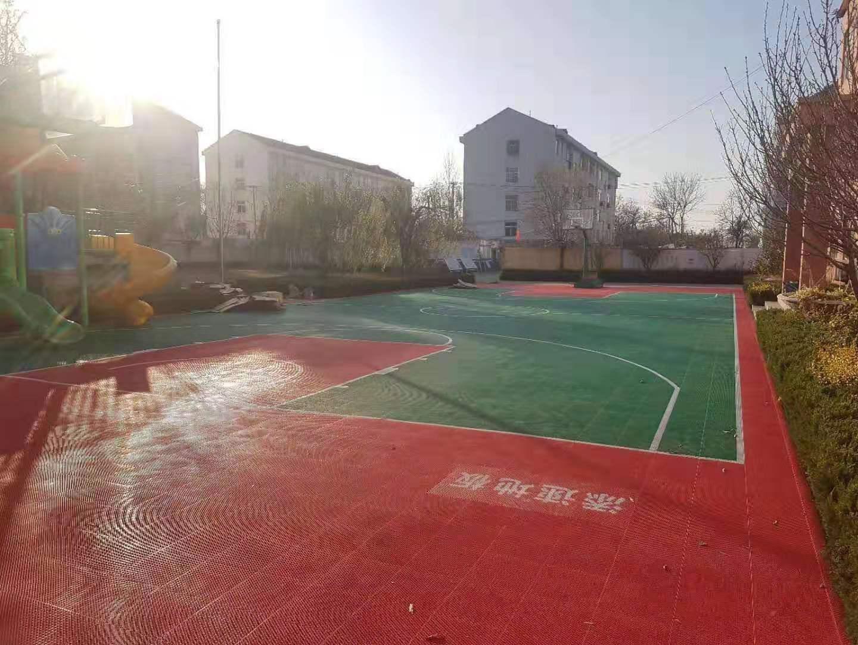 天水麦积篮球悬浮地板厂家全新料图片