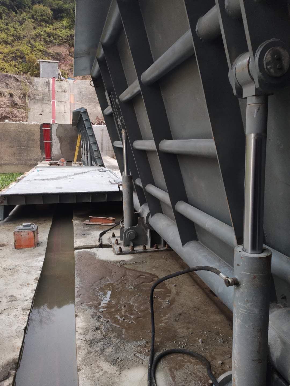 威海瀑布钢坝厂家