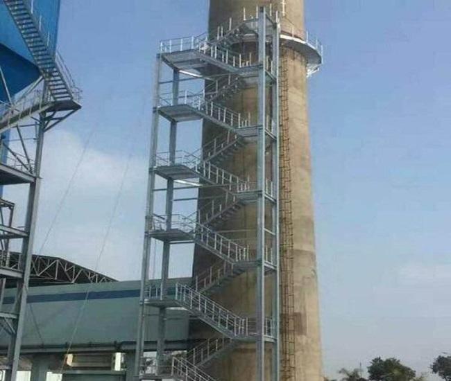 内江市烟囱安装钢折梯公司集团——锅炉烟囱