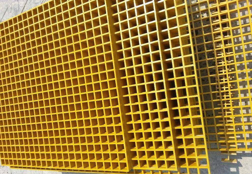 内蒙古模压玻璃钢格栅盖板拉挤玻璃钢格栅厂家