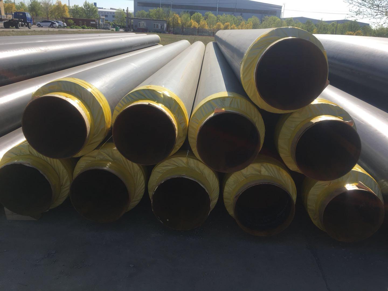 三门峡陕县小区供暖聚乙烯外护发泡保温钢管供应厂家