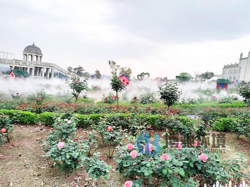遂昌婚慶現場的霧如何制作廠家報價_清水噴霧器設備無污染