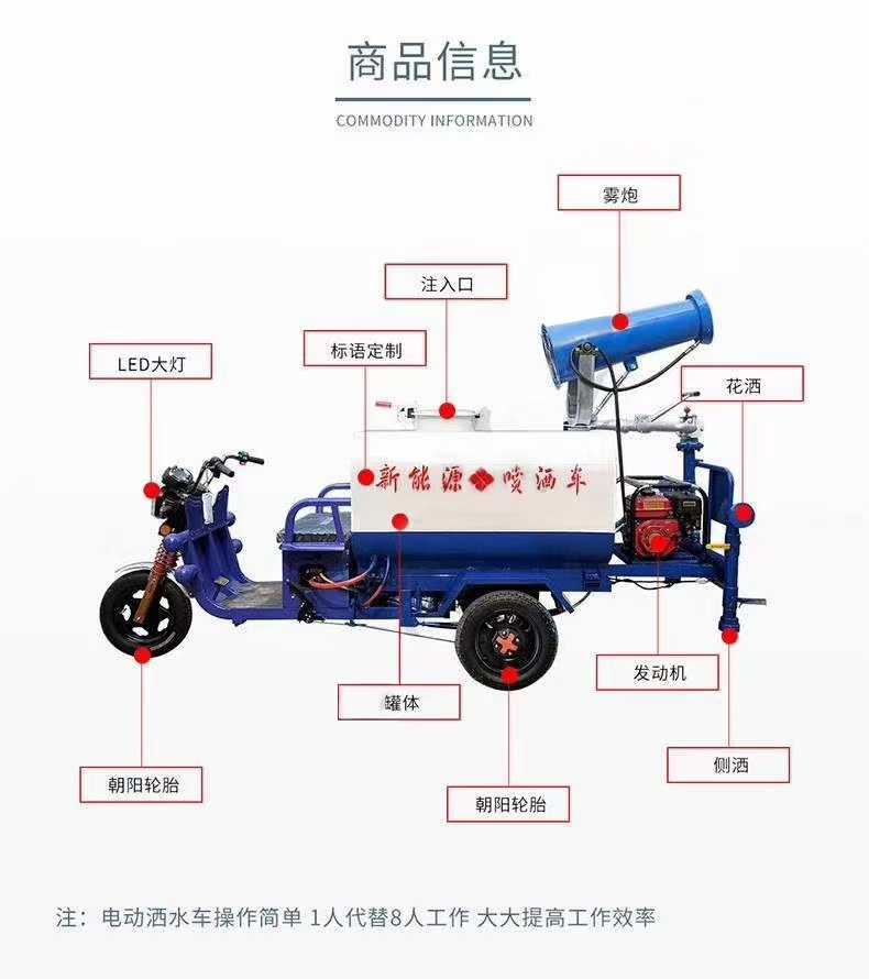 黑龙江鹤岗电动洒水车有卖的吗